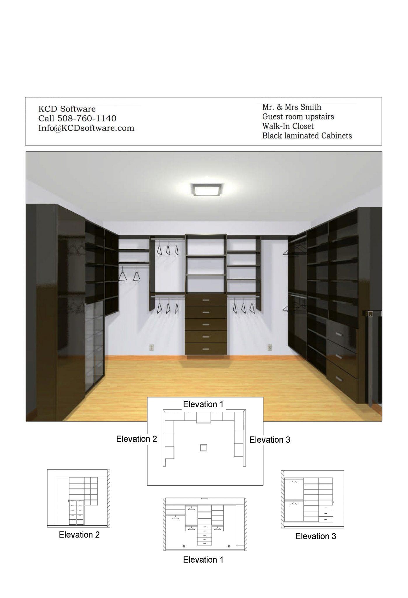 Cabinet Closet Designer Kcd Software