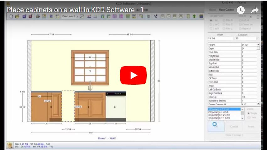 Add And Customize Cabinets Kcd Software